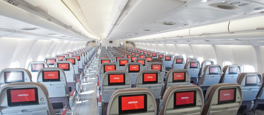 Iberia classe conomique affaires business club plus for Compagnie aerienne americaine vol interieur